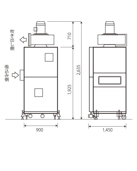 azumaの空気清浄機は集塵機の機能を最大限生かした進化系